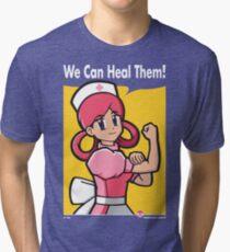 We Can Heal Them! Tri-blend T-Shirt