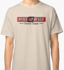 Daily Bugle News Team  Classic T-Shirt