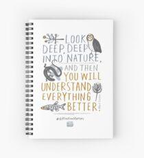 BioBlitz Extinction Matters Spiral Notebook
