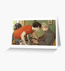 BBC Sherlock: A hot summer afternoon Greeting Card