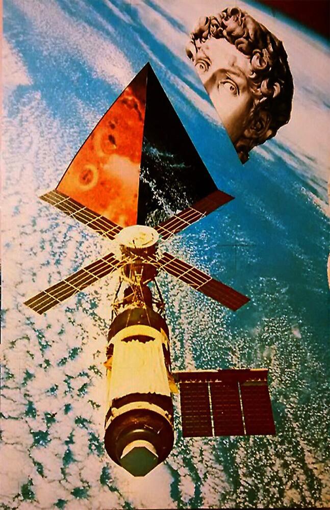 Late satellite  by GulpMetanoia