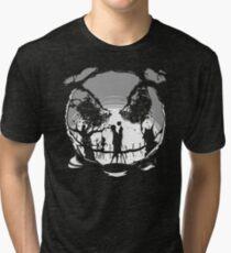 The Pumpkin Kiss Tri-blend T-Shirt