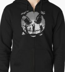 The Pumpkin Kiss Zipped Hoodie