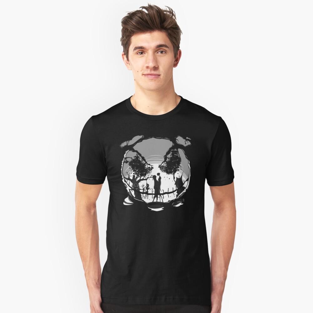 The Pumpkin Kiss Unisex T-Shirt Front