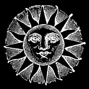 Vintage Sonne von monsterplanet