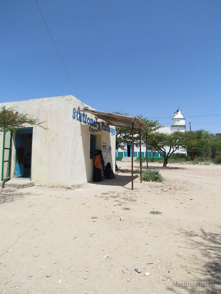 Corner store, Somaliland by Martina Nicolls