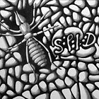 253 - SPIDER - DAVE EDWARDS - INK - 2014 by BLYTHART