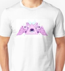 Pink Illuminati Triangle T-Shirt