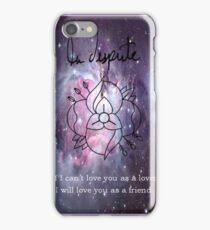 A universe of La Dispute iPhone Case/Skin