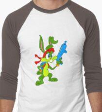 Jazz Jackrabbit Baseballshirt mit 3/4-Arm