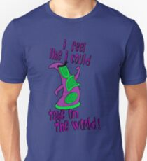 Day of The Tentacle - I Feel Like I Could Take on The World Unisex T-Shirt