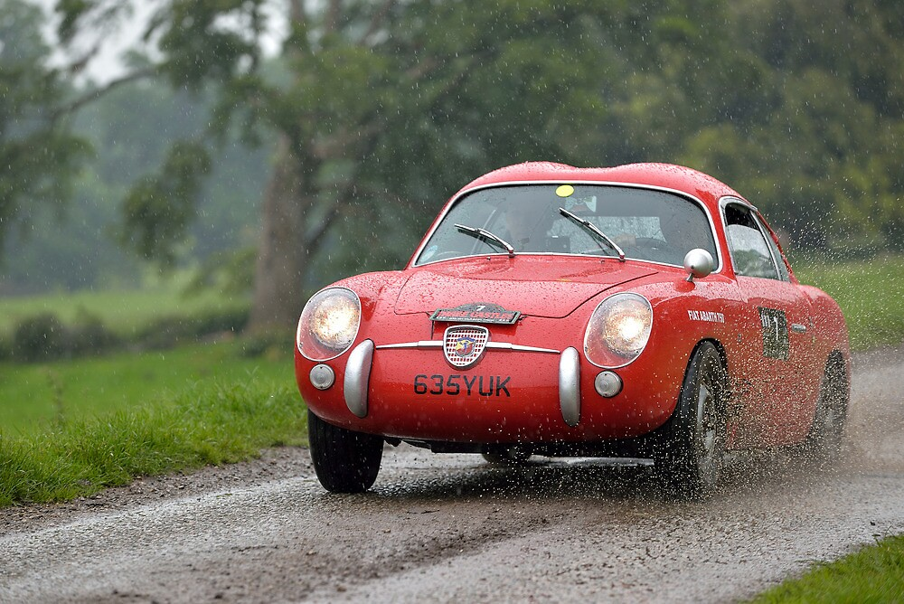 The Three Castles Welsh Trial 2014 - Abarth 750 GT Zagato by Three-Castles