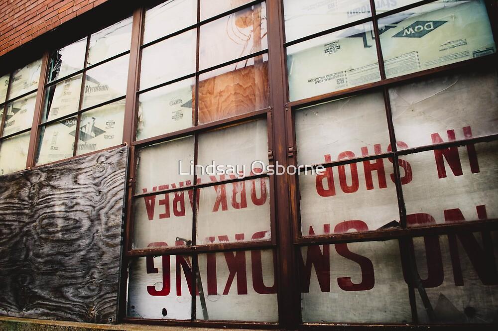 Warehouse Window by Lindsay Osborne