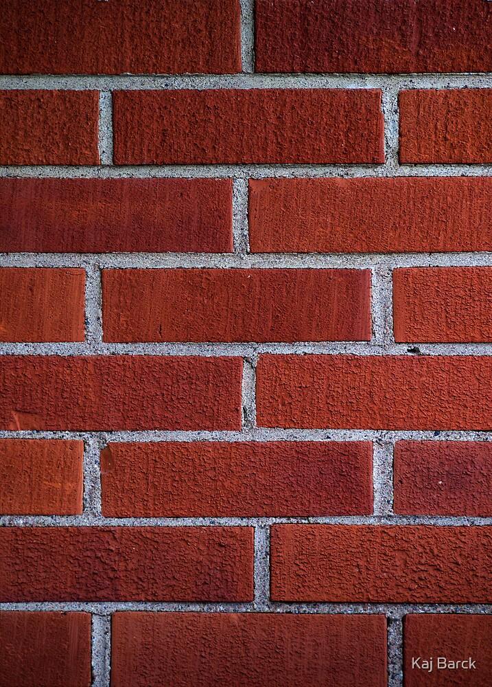 Brick wall by Kaj Barck
