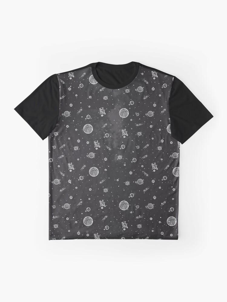 Alternative Ansicht von Sonnensystem Grafik T-Shirt
