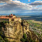 Meteora Monastery by Kostas Koutsoukanidis