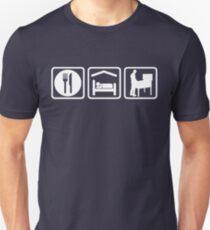 Funny Pinball Eat Sleep T Shirt T-Shirt