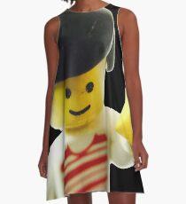 Retro Lego Minifigure A-Line Dress