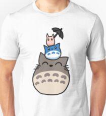 Trio Totoro Unisex T-Shirt