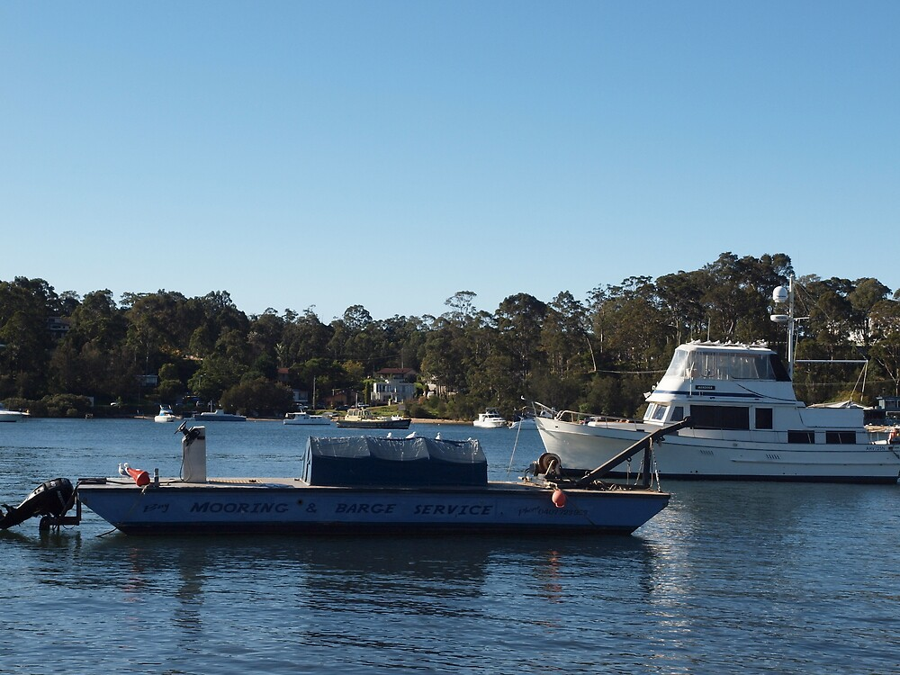 Working Boat Batemans BAY nsw by Tom McDonnell