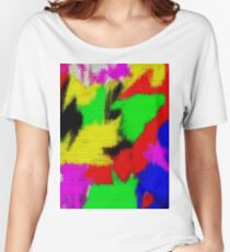 oil pastel Women's Relaxed Fit T-Shirt