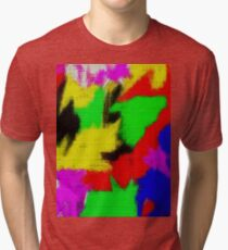 oil pastel Tri-blend T-Shirt