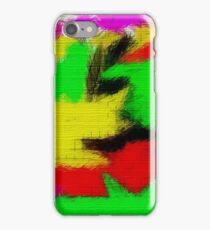 oil pastel iPhone Case/Skin