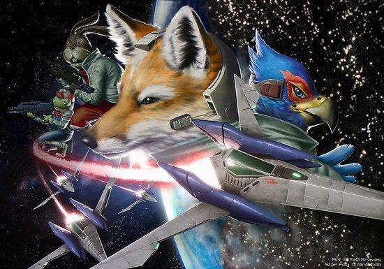 Star Fox by TedGravesArt