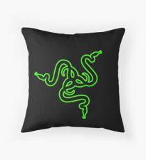 Razer Logo | Simple Throw Pillow