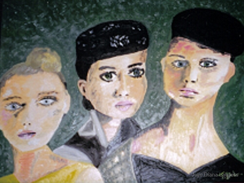 Three Eves by Julie Diana Lawless