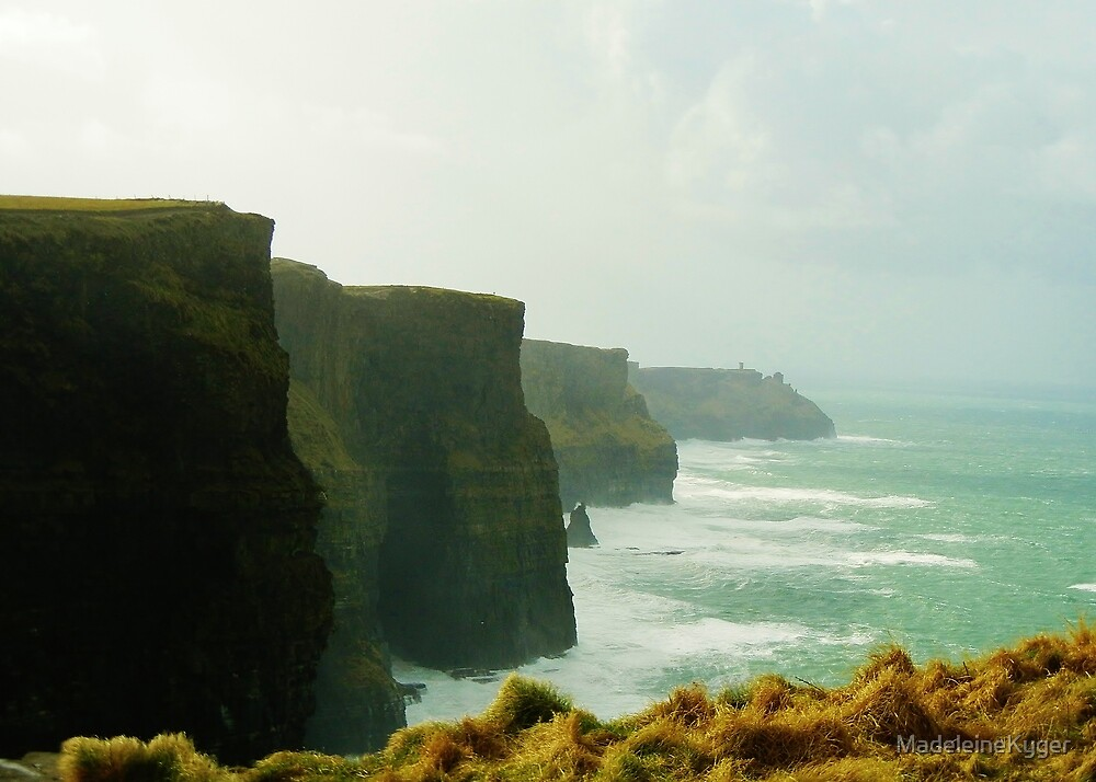 Cliffs of Moher by MadeleineKyger