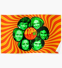 That 70's show poster own design psychedelic Poster