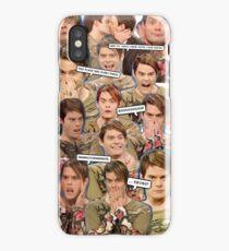 Stefon collage iPhone Case/Skin
