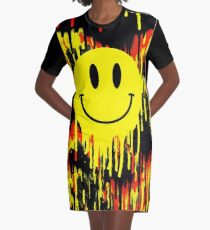 Acid house Graphic T-Shirt Dress