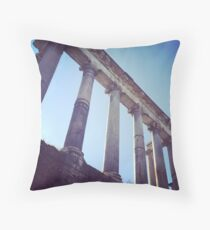 The Temple of Saturn Throw Pillow