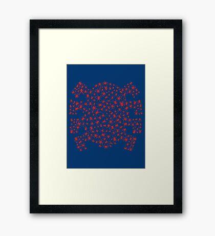 Wall Climber Framed Print