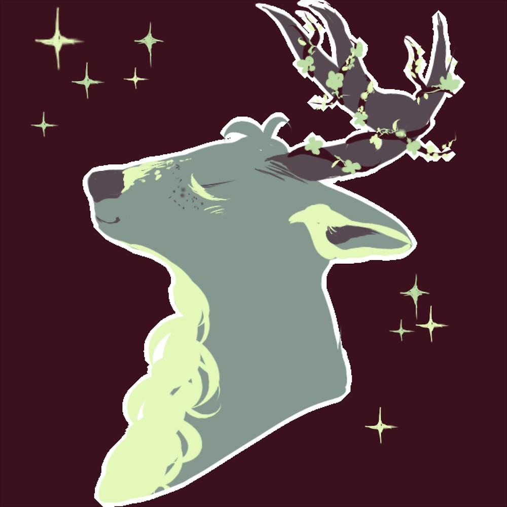 Mint Chip Deer by RibbonsAndStars