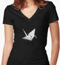 prison break - Faith Women's Fitted V-Neck T-Shirt