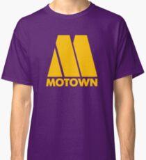 MOTOWN DISCO RECORDS (YELLOW) Classic T-Shirt