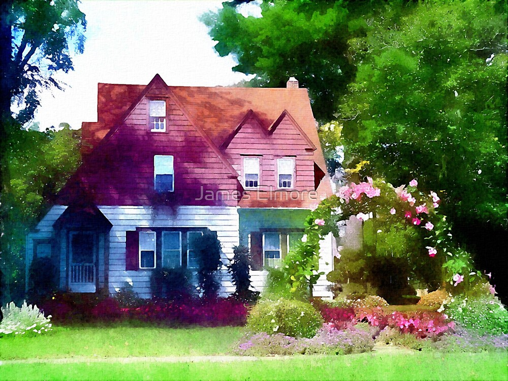 Happy Cottage by James Elmore