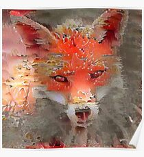 Sly Red Fox  Poster