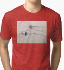 Surreal Reef-break Tri-blend T-Shirt