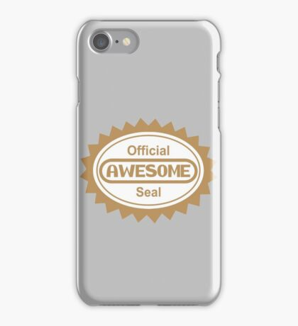 Official Awesome Seal iPhone Case/Skin
