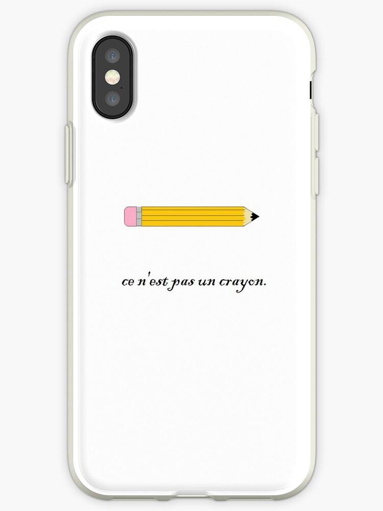 ce n'est pas un crayon. by freezammer