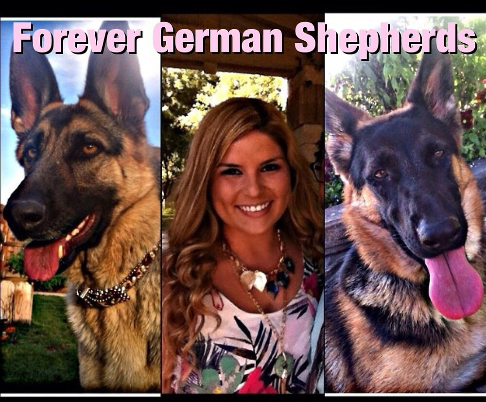 Forever German Shepherds by barkleys-studio