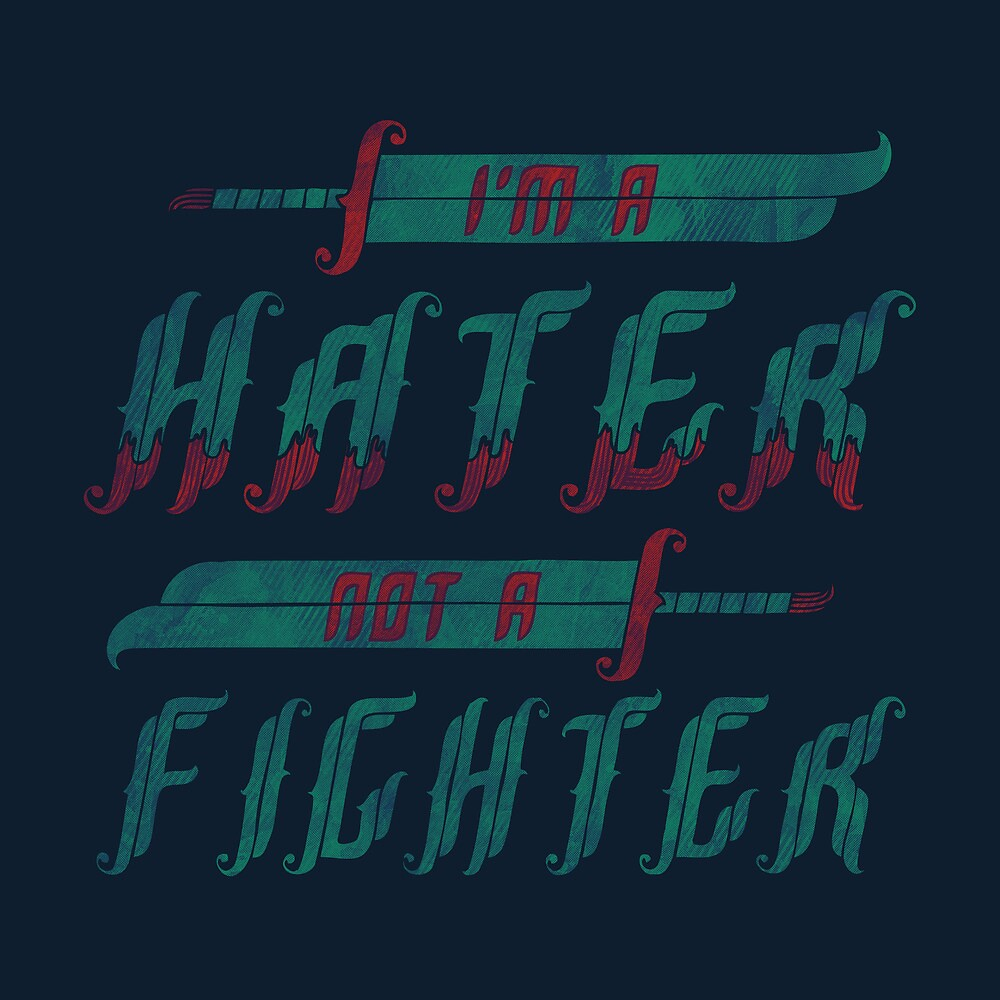 Hater by Hector Mansilla