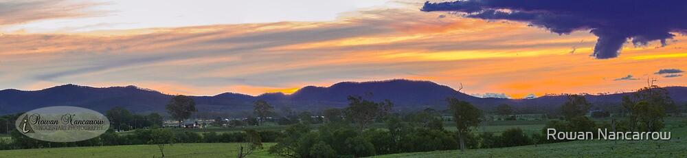 Beaudesert Sunset by Rowan Nancarrow