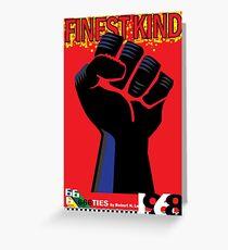 666ties - 1968: Finest Kind Greeting Card