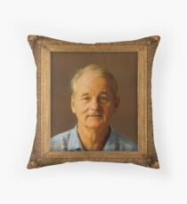 Bill Murray for Prez Throw Pillow