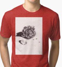 Wet Rose Tri-blend T-Shirt